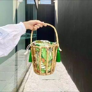 Bamboo Cage handbag